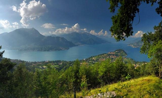 Dal Belvedere Makallé hai un panorama eccezionale sul Lago di Como