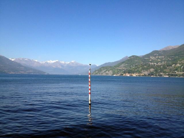 A Punta Spartivento si dividono i due rami del Lago di Como