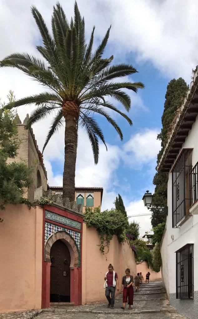 L'Albaicín è il quartiere pittoresco da vedere a Granada!