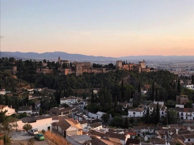 Dove vedere il tramonto sull'Alhambra di Granada? Dal Mirador de San Miguel Alto