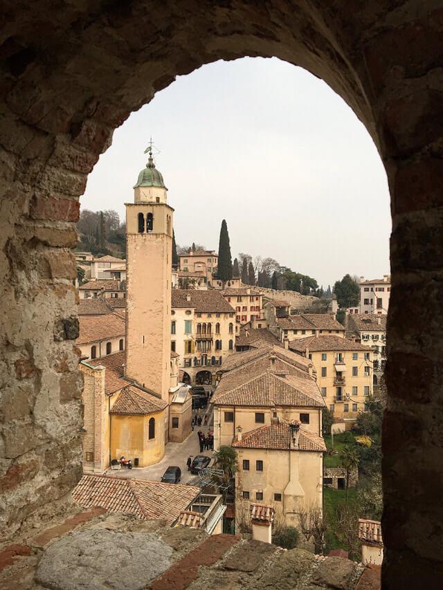 Asolo è uno dei borgo più belli d'Italia da vedere in Veneto