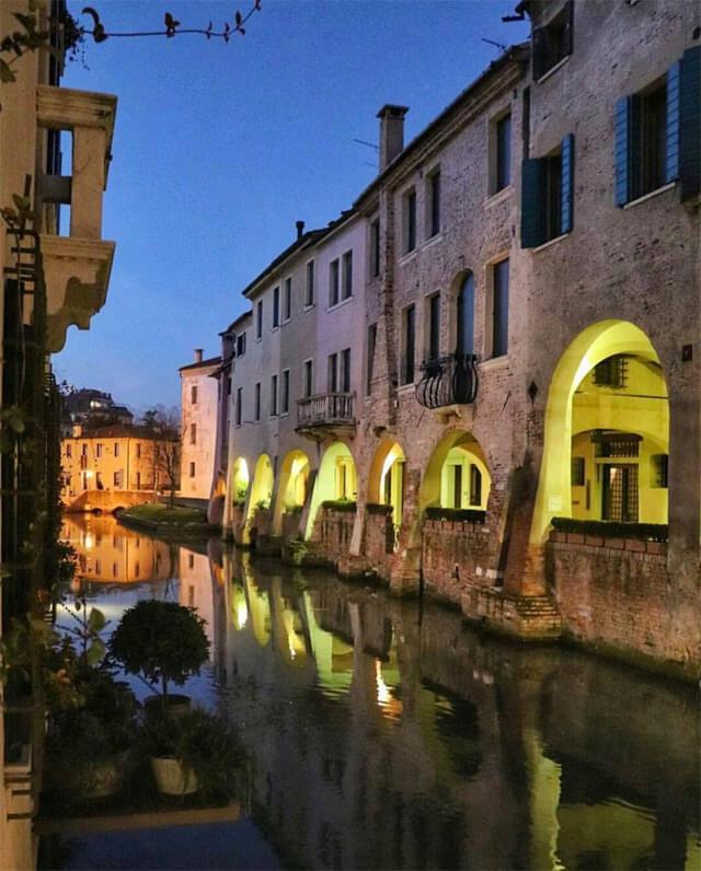 Il canale dei Buranelli è il simbolo di Treviso