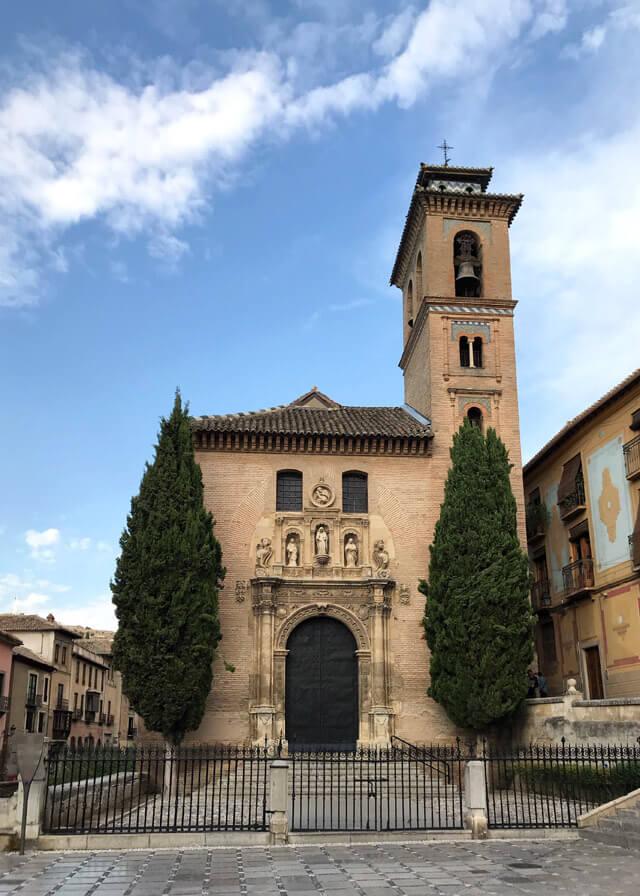 Chiesa de Santa Ana di Granada è in stile mudejar cinquecentesco