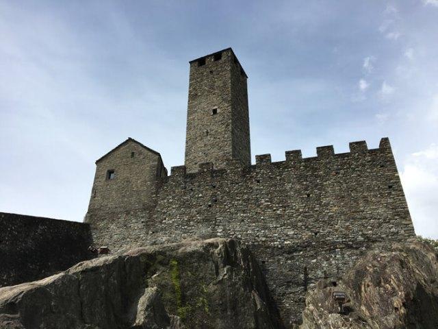 Castelgrande è un bellissimo castello da vedere a Bellinzona in Ticino