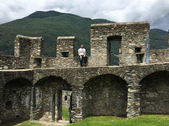 Castelgrande è un castello Patrimonio Unesco di Bellinzona in Ticino