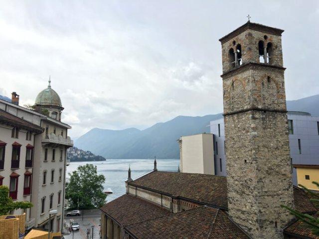La chiesa di Santa Maria degli Angioli è da vedere a Lugano