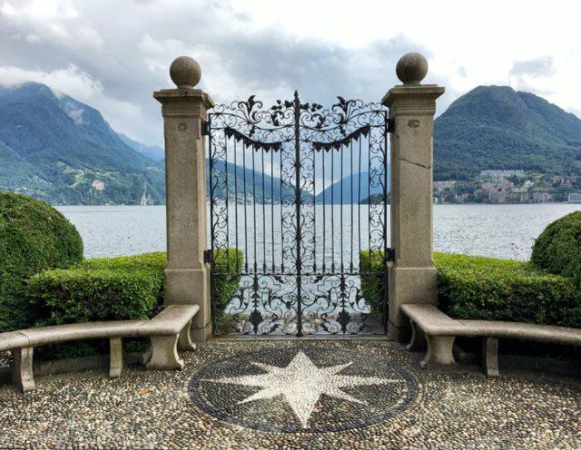 Parco Ciani a Lugano ha un famoso cancello sul lago di Lugano