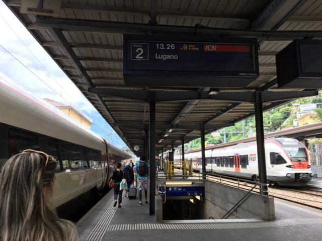 Ho fatto una gita fuori porta in Ticino in treno tra Bellinzona e Lugano