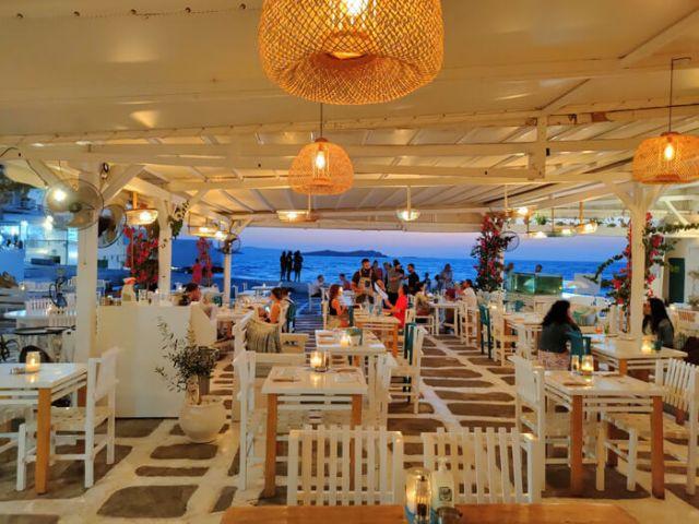 Dove cenare a Mykonos? Al ristorante Nice n Easy