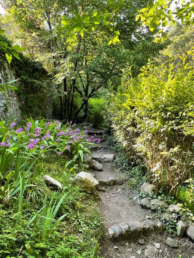 Posti belli del Lago di Como? Il Giardino della Valle a Cernobbio