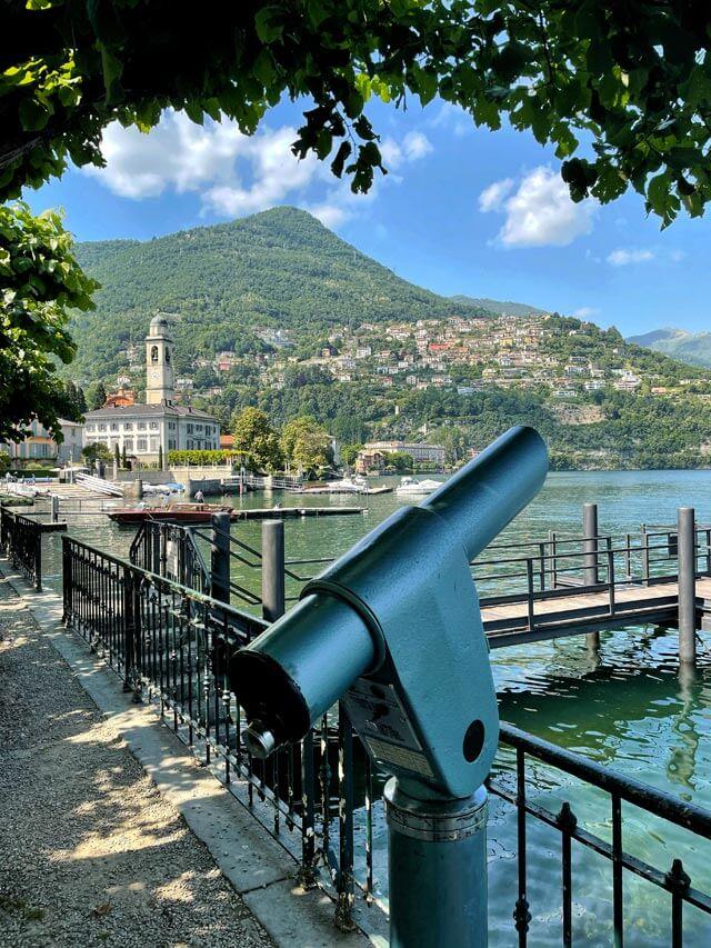 Riva di Cernobbio è tra gli angoli più belli del Lago di Como