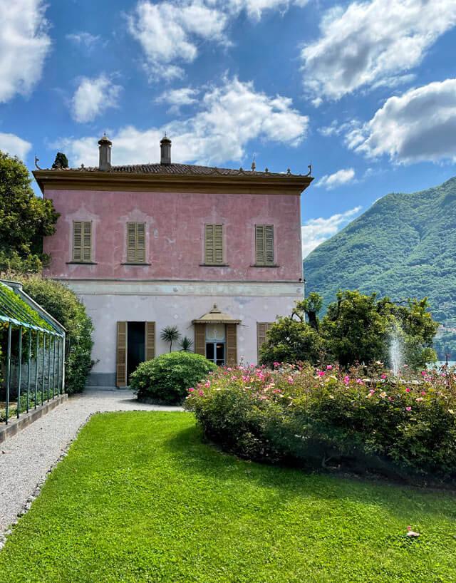 Villa Pizzo è da visitare a Cernobbio sul Lago di Como