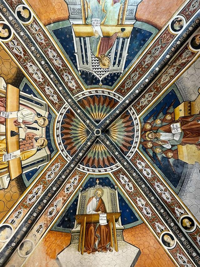 Gli affreschi della Chiesa di San Fiorenzo sono un tesoro dell'Alta Langa