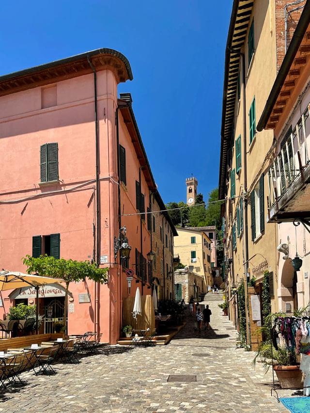 Dove mangiare a Santarcangelo di Romagna? All'osteria La Sangiovesa