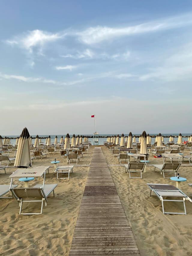 Bellaria-Igea Marina hanno 7 km di spiagge sabbiose