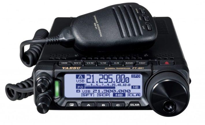 Kuva Yaesu FT-891-radiosta.