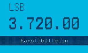 Kanslibulletin på svenska läses på söndagar.