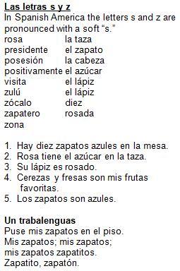 21 LAS LETRAS S Y Z