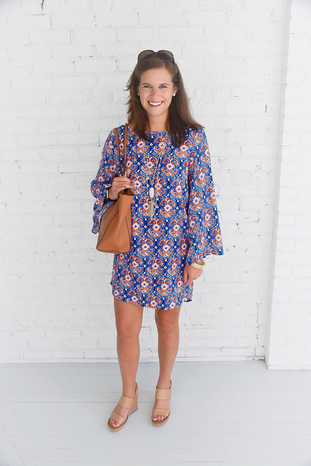 All For Color ikat dress