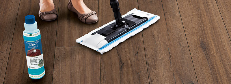 Laminate cleaning.
