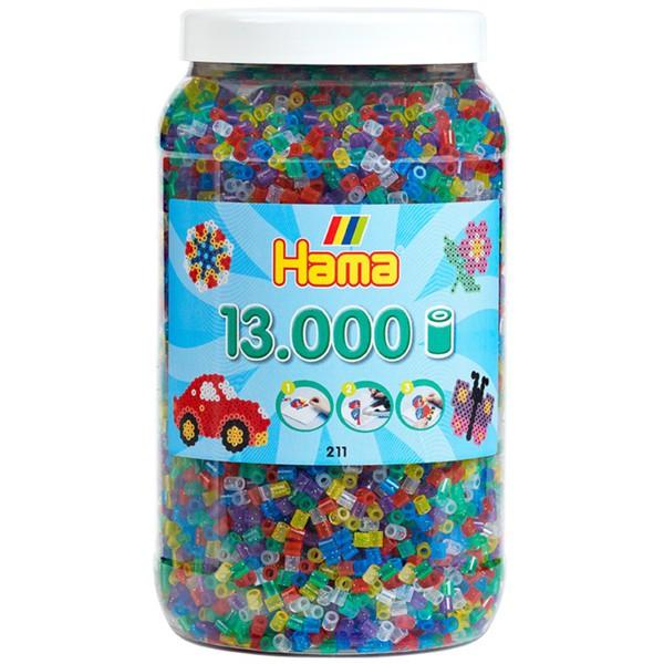Neon Glitter Bugelperlen 6 000 Stuck Elviras Bastelmaterial