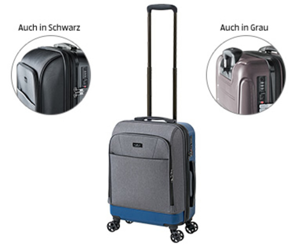 Royal Class Travel Line Hybrid Trolley Boardcase Von Aldi Sud Ansehen