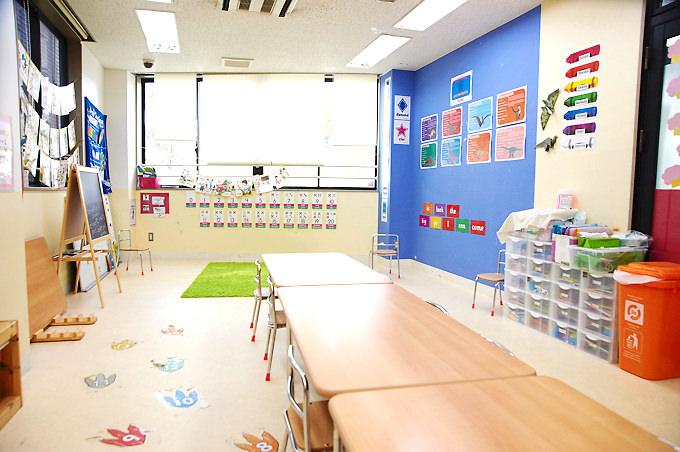立川・国立・日野エリアの人気プリスクール「Global Step Academy International School」の教室・クラスルームの様子