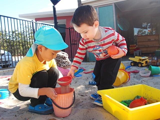 オーストラリア親子留学…留学中の幼稚園の様子