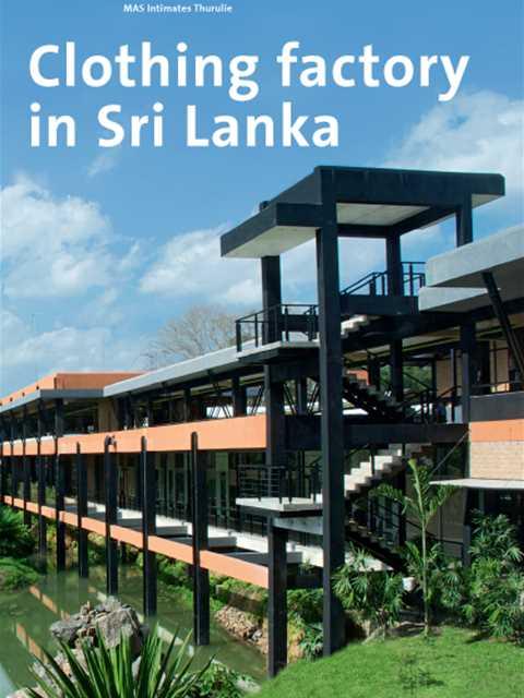 MAS Intimates Thurulie Clothing Factory In Sri Lanka