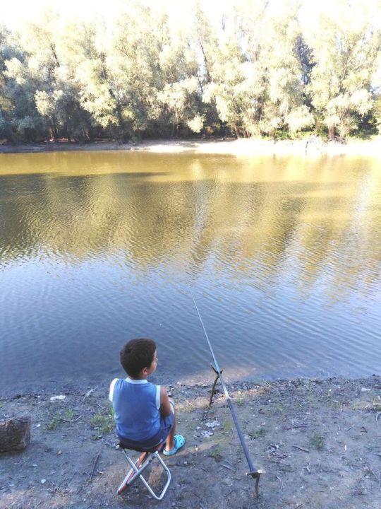 Pecanje u karlovačkoj ''Rupi''