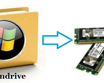 Does using Pen Drive as RAM really increases your Computer speed ? 2