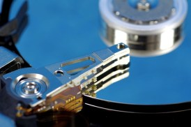 hard drive with blue reflection. see portfolio for similar concepts.