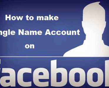 How to Create Single Name on Facebook without Proxy in 2018 1