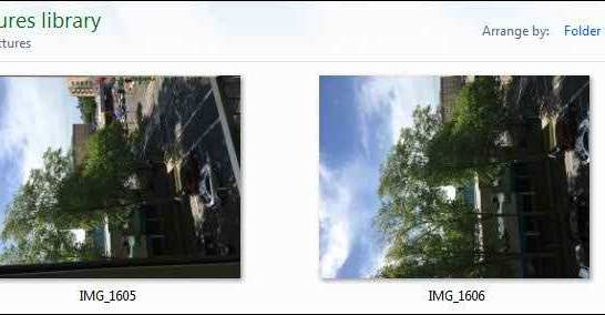 Why Your Photos Don't Always Appear Correctly Rotated 1
