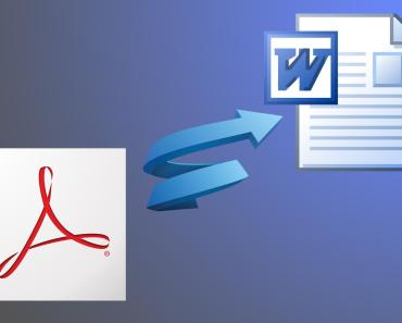how to convert pdf files to word format docx