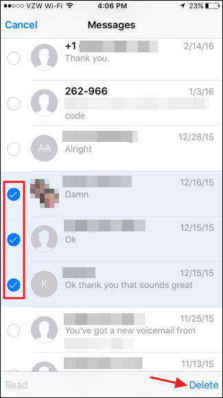 How to Delete Text Messages and iMessages in iOS (1)
