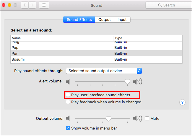 How to Disable the Trash and Screenshot Sound Effects on a Mac (4)
