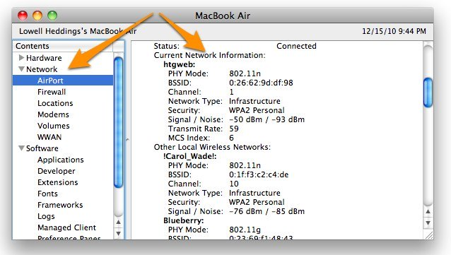 How to See Your Current Wi-Fi Connection Speed in Mac OS X (1)