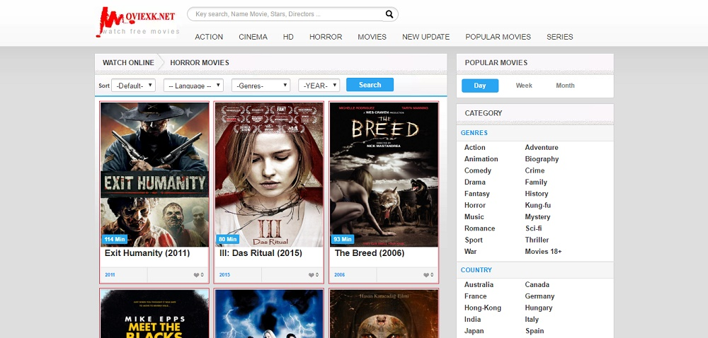 12+ Best Websites To Watch Horror Films Online Without
