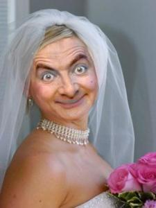 Bride Mr Bean Funny Picture