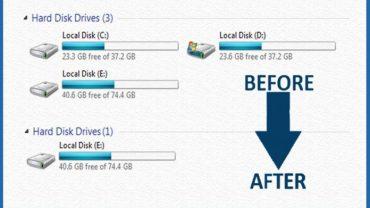 Hide Drive In Windows Using CMD