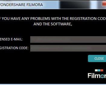 register filmora - Wondershare filmora key
