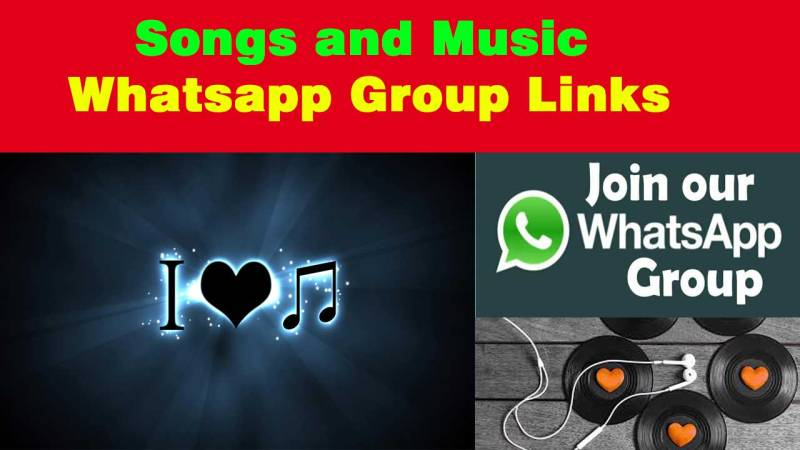 Songs and Music Whatsapp Group Links Join Free All Whatsapp Users.