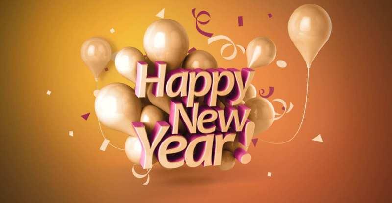 happy new year celebration images