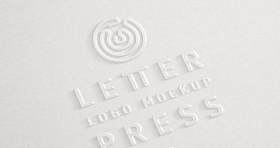 25+ Best 3D Logo Mockup Adobe PSD & Vectors 21
