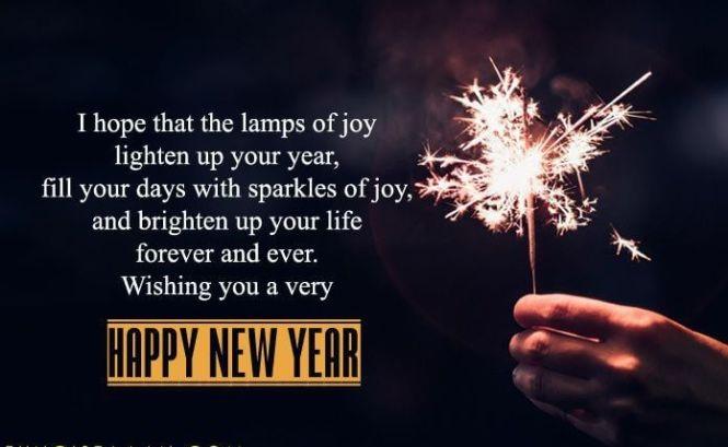 Happy New year 2021 Quotations joy hd