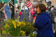 Florists in the square