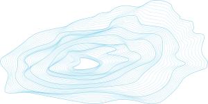 Fond d'écran : un glacier en strates