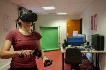Session réalité virtuelle
