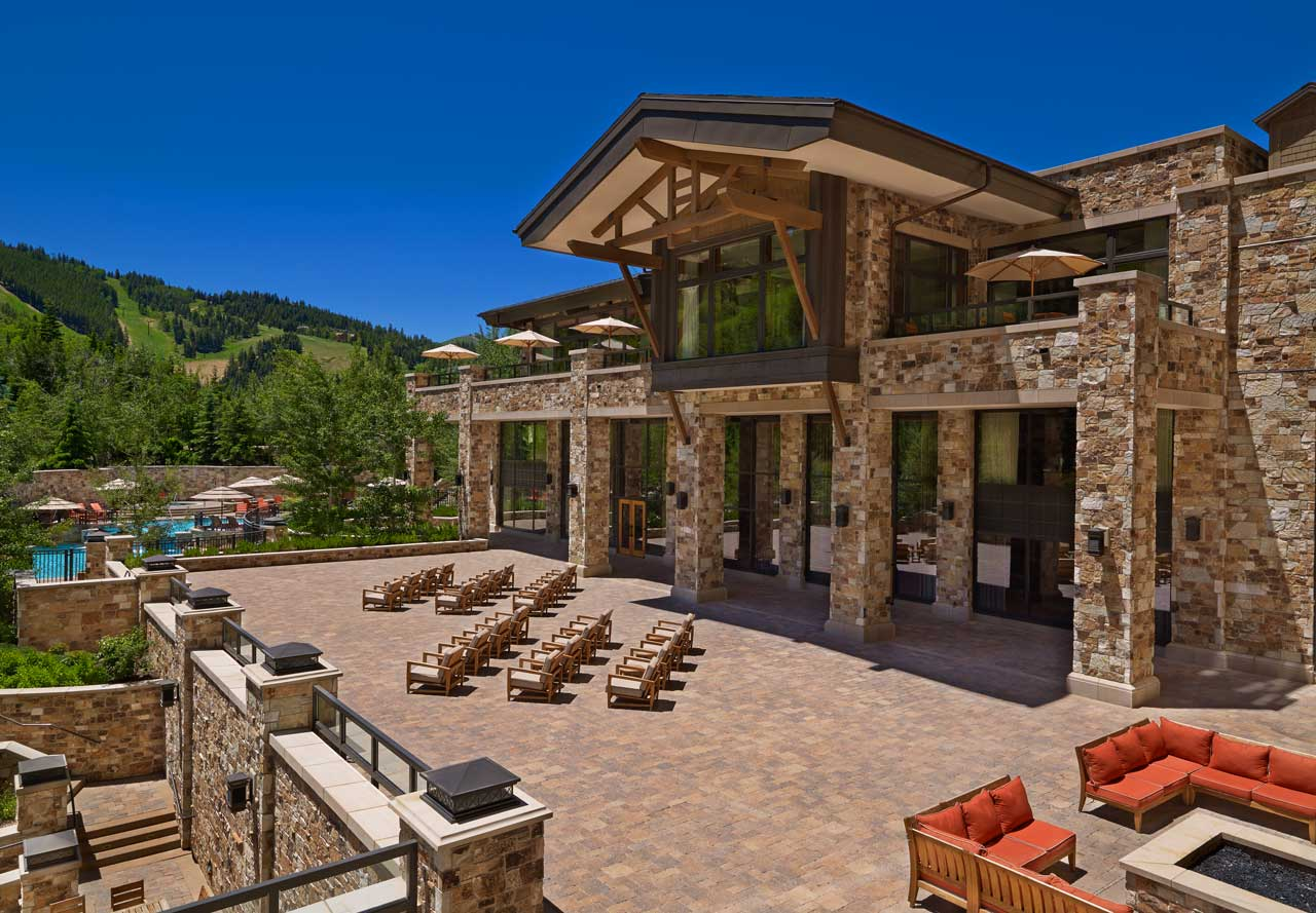 The St. Regis Deer Valley Astor Terrace